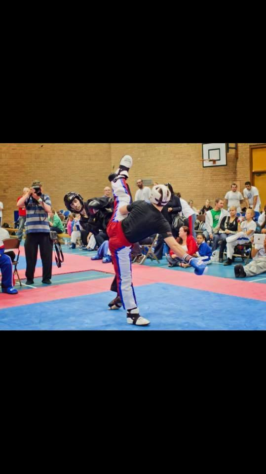 Martial arts training. BMMA