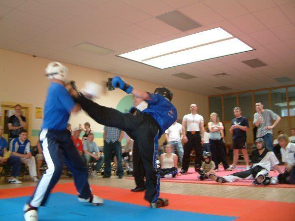 High kick with BMMA
