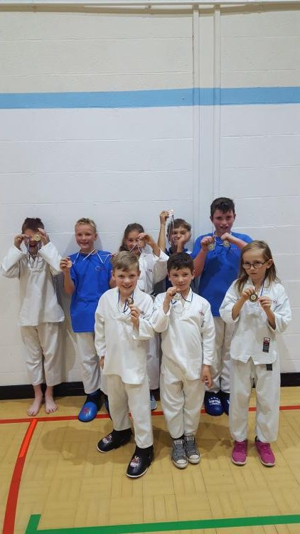 BMMA medal winners. Martial arts winner