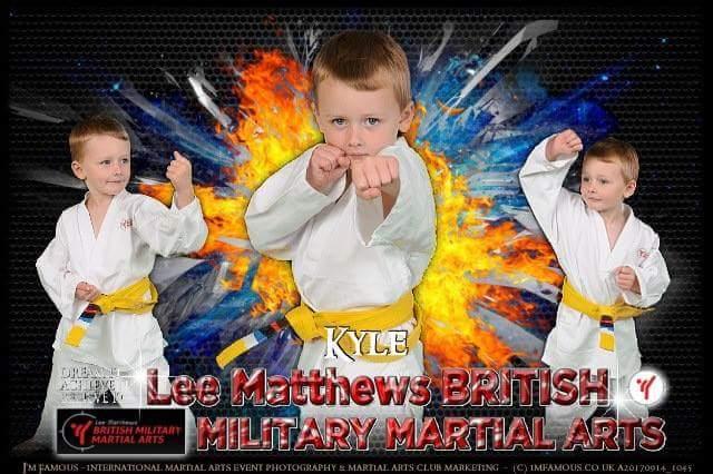 BMMA kids Lee Matthews