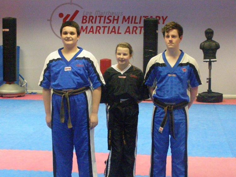 Martial arts Black belts