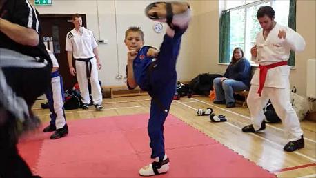 BMMA kid high kick