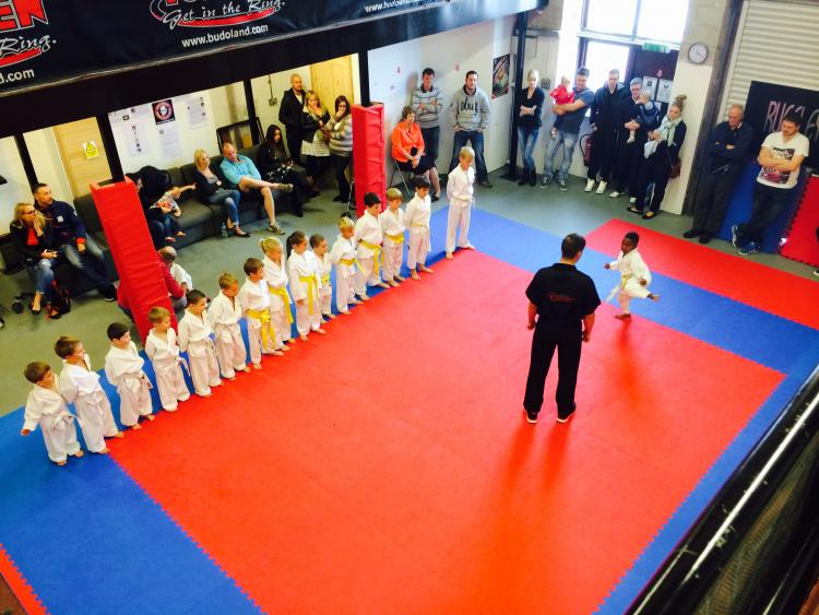 BMMA martial arts lesson